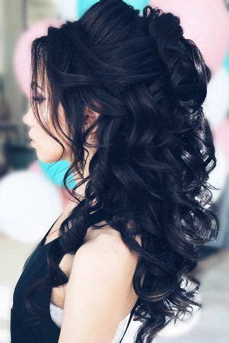 prom hairstyles dyed hair