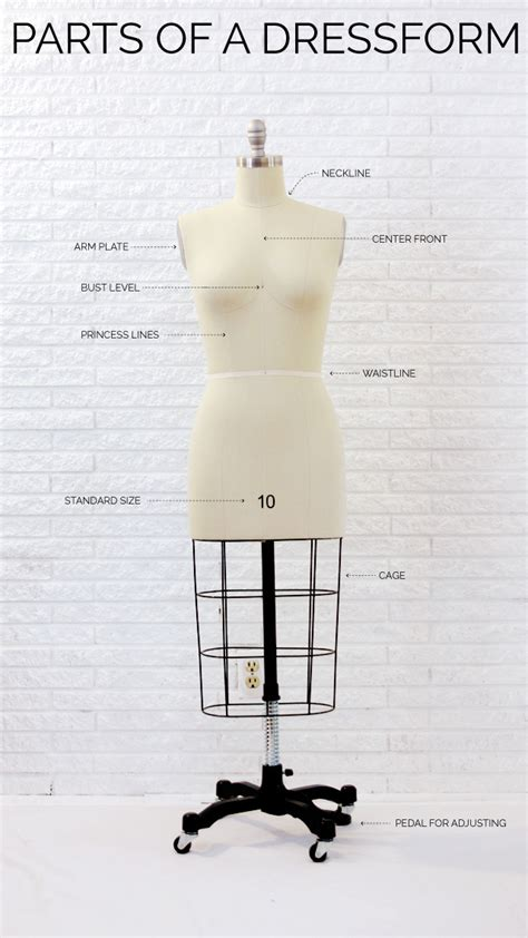 parts of a sewing 101 parts of a dress form shop company review see kate sew