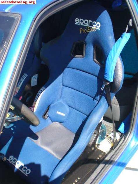 si鑒es baquets cambio baquets sparco pro 2000 por semibaquets sparco torino venta de equipación interna vehículo
