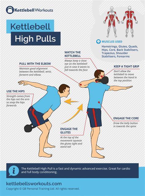 kettlebell pull cardio exercise kettlebellsworkouts
