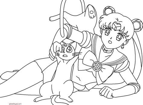 Dibujos De Sailor Moon Para Colorear