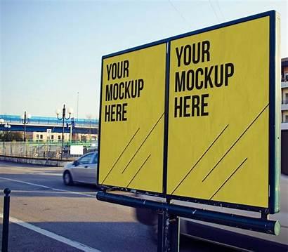 Mockup Advertising Mockups Psd Billboard Poster Publicitaire