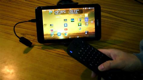 connect air mouse  keyboard   android