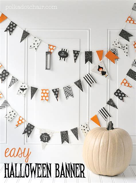 16 Halloween Paper Crafts, Decorations, & Activities The