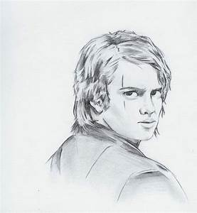 Anakin Sketch by PatVince on DeviantArt