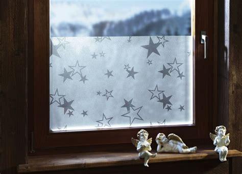 Fenster Sichtschutzfolie Sterne by Deko Ideen Mit Fenster Und Milchglasfolie Trendomat