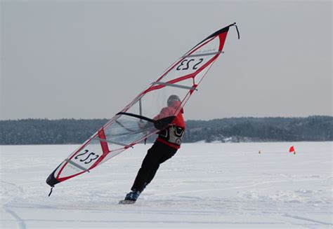 Jacht Lodowy by Ice Board And Kite Wings Ice Cup Sweden