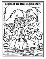 Den Daniel Coloring Lions Pages Getdrawings sketch template