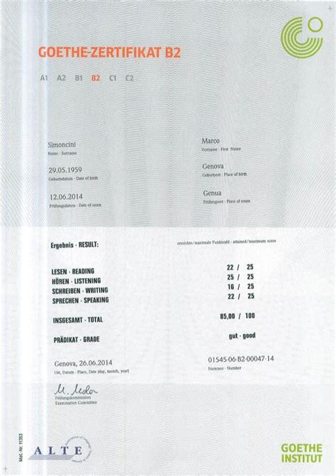goethe zertifikat  marco simoncini