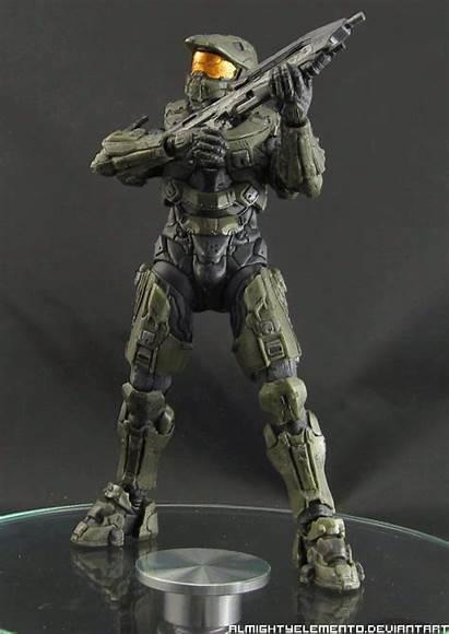 Chief Master Halo Animated Stats Rotation Deviantart
