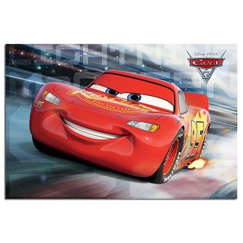 Cars 3 Lightning Mcqueen Race Poster