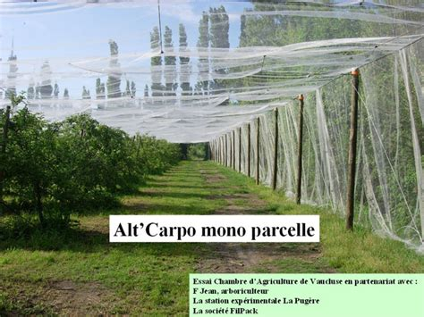 chambre d agriculture vaucluse protection contre le carpocapse protection pommes mono