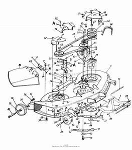 Mtd 146s828h013  1996  Parts Diagram For Deck Assembly
