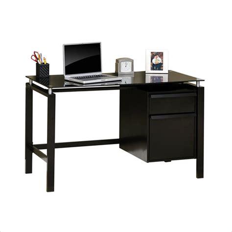 studio rta desk studio rta lake point desk in black black glass bedroom