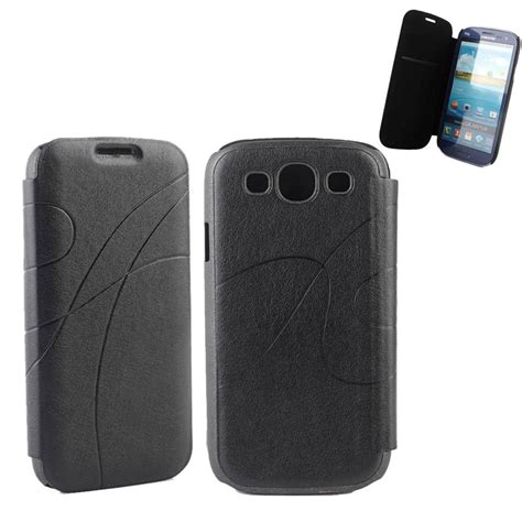 Flip Cover Samsung S3 galaxy s3 flip pu leather cover for
