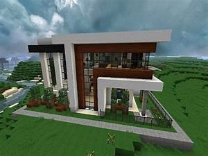 Minecraft Modern House Modern Minecraft House Blueprints ...