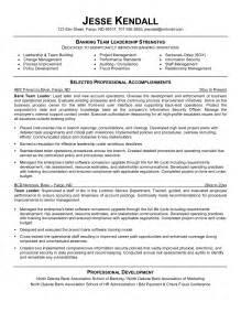 leadership skills resume statement leadership resume exles berathen