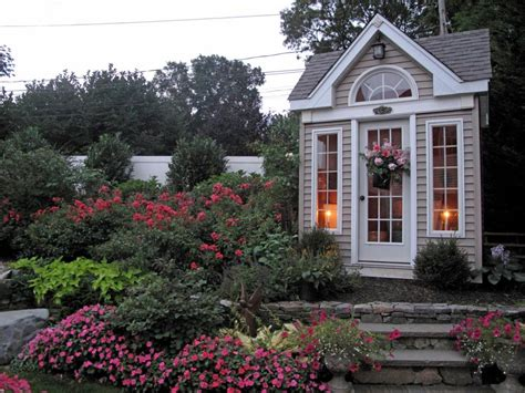 awesome greenhouses sheds  potting tables hgtv