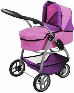Puppenwagen 2 In 1 : knorr toys puppenwagen 2 in 1 cico pink purple online kaufen otto ~ Eleganceandgraceweddings.com Haus und Dekorationen