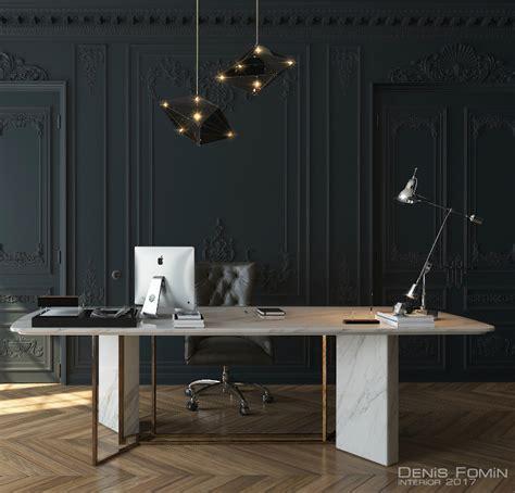 Black Parisian Interior Design Home Office by The Black Parisian Interior Design For Home Office Decoholic