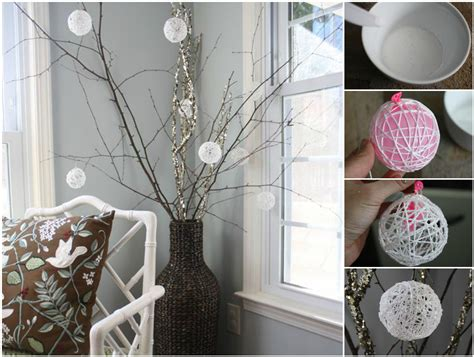 Creative Ideas Diy Glittery Snowball Christmas Ornaments How To Choose Kitchen Cabinet Hardware Pictures Images White Cabinets Doors Removing Grime From Only With Shelves Quality Of Ikea Lowes Canada