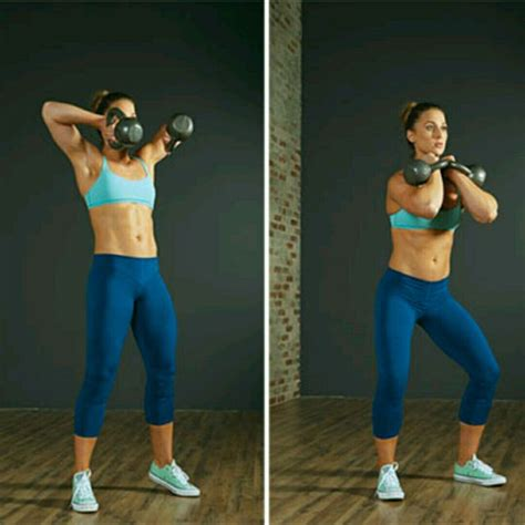 double kettlebell clean skimble exercise