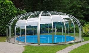 Schwimmbecken Für Garten : schwimmbad berdachungen f r runde schwimmbecken von v roka ~ Michelbontemps.com Haus und Dekorationen