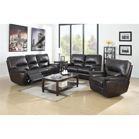 brown leather recliner sofa set galaxy brown leather air reclining power sofa w reclining