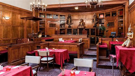 tables cuisines 10 restaurants insolites à londres mangez dans des lieux