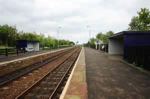Railway Station At Seaton Carew Philip Barker