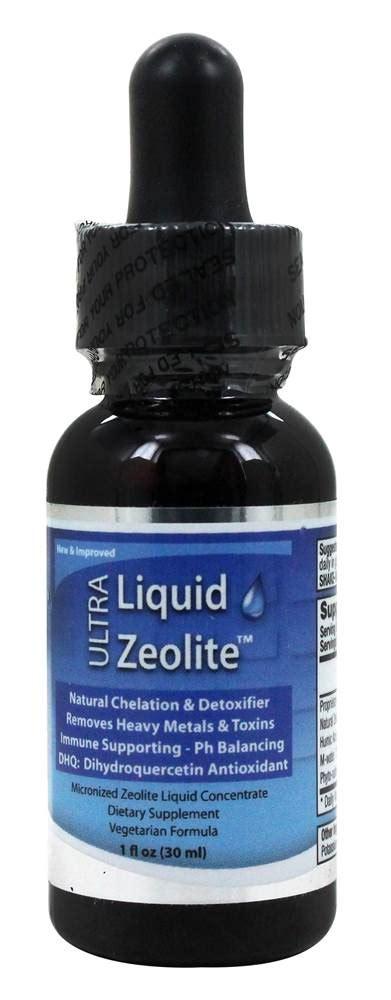 buy liquid zeolite ultra liquid zeolite  fl oz  luckyvitamincom