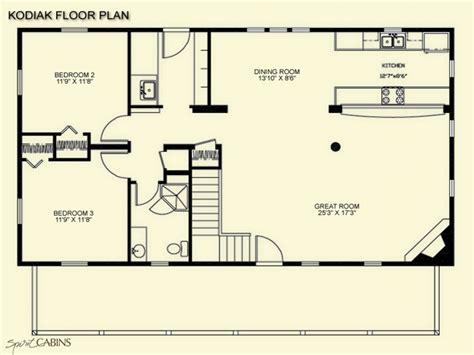 log cabin floor plans  loft rustic log cabin floor