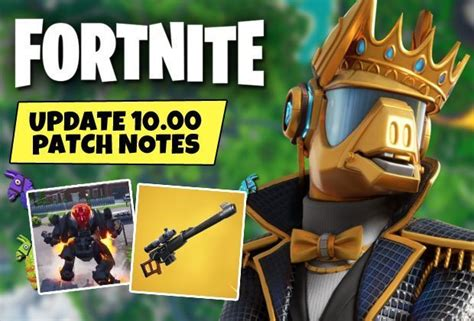 There are a bunch of awesome changes to fortnite that have been added in the latest update, so here's everything you need to know. Fortnite Update Time Today: Patch Notes now LIVE - New ...