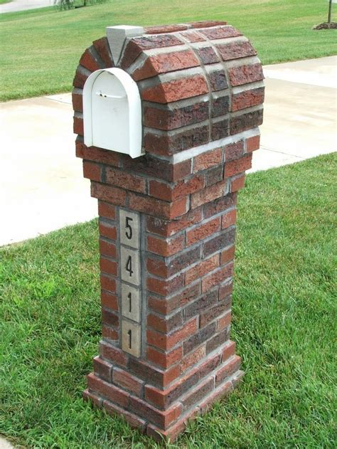 Country Brick Mailbox #19732  Design  Pinterest Brick