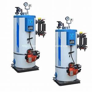 Vertical Fire Tube Oil  Gas Fired Steam Boilers