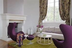 reportages decorer sa maisonfr With tapis shaggy avec canape olivier lapidus