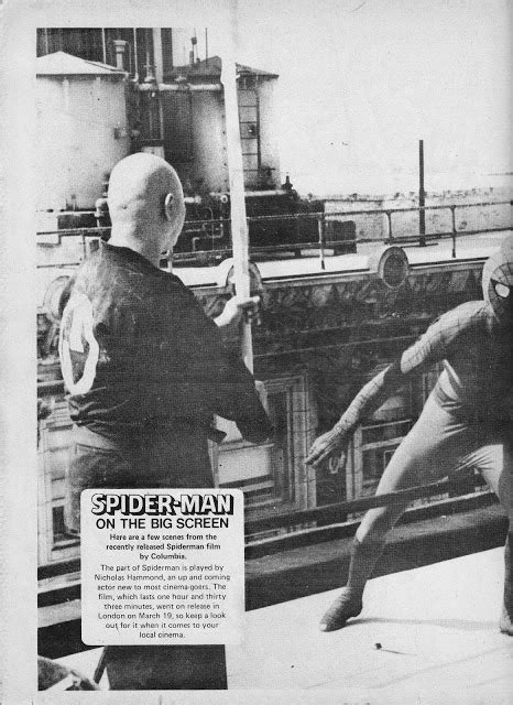 STARLOGGED - GEEK MEDIA AGAIN: 1978: SPIDER-MAN MOVIE ...