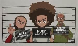 Huey Freeman Boondocks Shirts