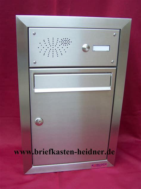 www briefkasten de uph35 knobloch unterputz briefkasten 260 1 klingel