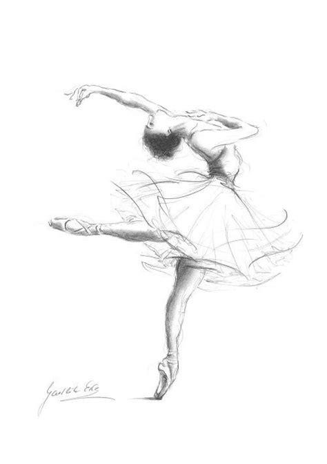art ballet dance draw girl image #3689248 by