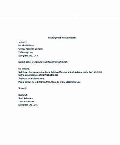 Letter To Thank For Job Offer Employment Verification Letter What Information To Include