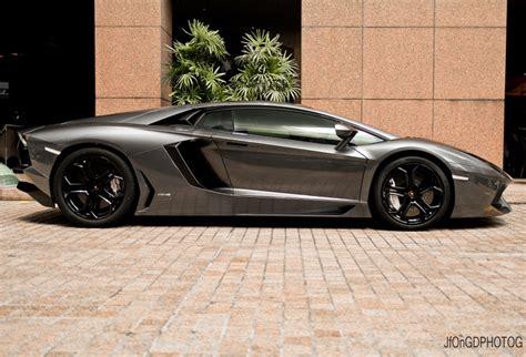 Lamborghini Aventador In Metallic Gray Rides