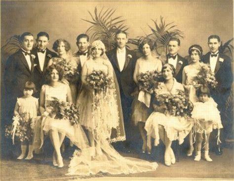 Vintage 1920s Wedding Photos