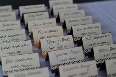 wedding food choice cards wedding ideas