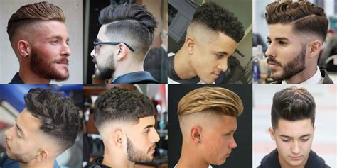 Men's Haircuts + Hairstyles 2017