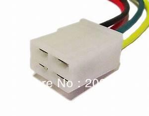 Longyue 2pcs Universal Alternator Repair Connector 4 Pin