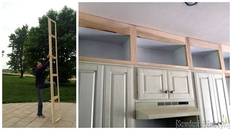 extending kitchen cabinets to ceiling extending kitchen cabinets up to the ceiling reality 8893