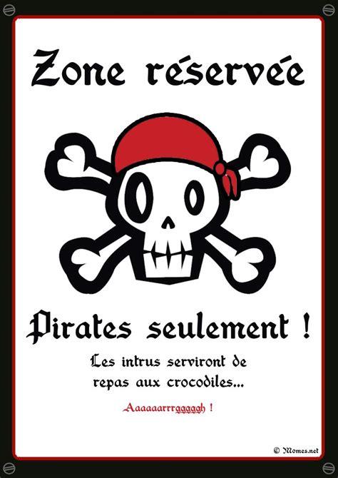 deco chambre garcon pirate poster quot seulement quot à imprimer momes