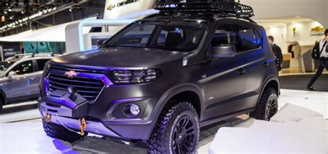 chevrolet niva concept bows  moscow auto show gm authority