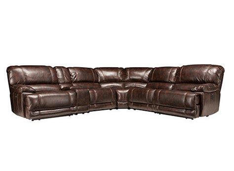 raymour and flanigan recliner sofa dowling 6 pc power reclining sectional from raymour